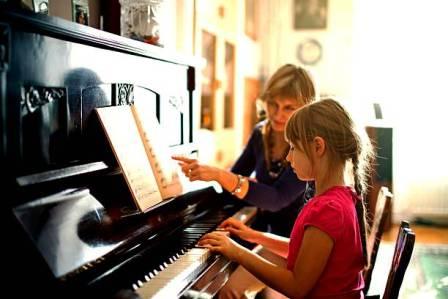 « Обучение игре на фортепиано»